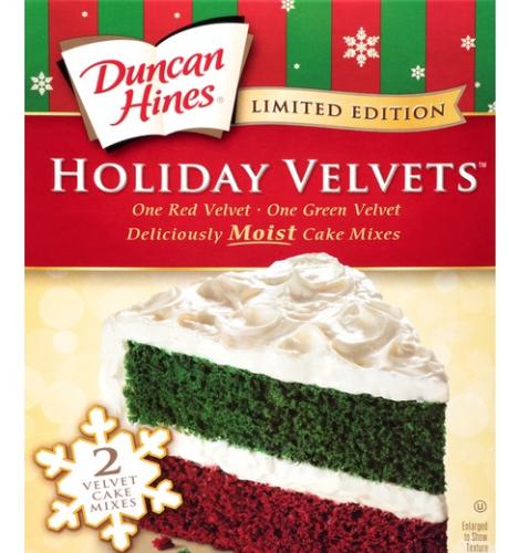 Duncan Hines Velvet Cake 49 Cents