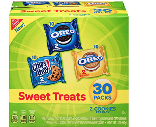 Nabisco Snacks just  23 Cents