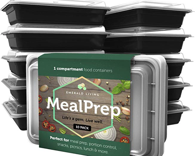 10 Meal Prep Containers for $2.80