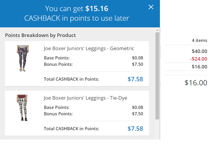 4 Pairs of Juniors Leggings for ONLY $.84!