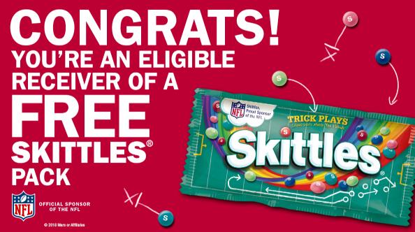 F R E E Skittles Candy!