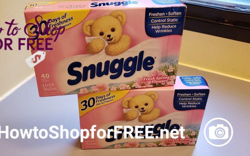 RUN!! FREE Snuggle Dryer Sheets at Dollar General ~ ALL Digital Coupons!