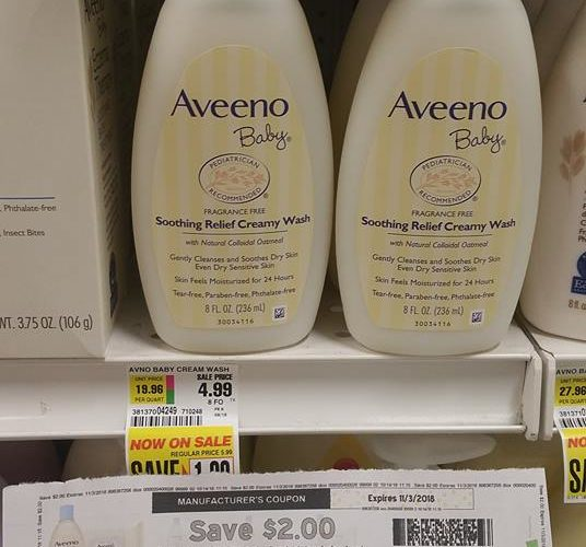 Aveeno Baby just $.99!!