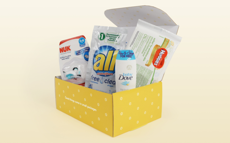 FREE Baby Welcome Box from WalMart!