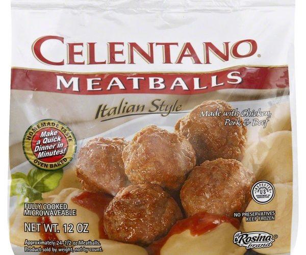 Celentano Italian Meatballs for $.99!