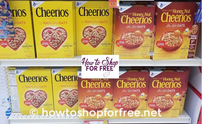 4 FREE Cheerios!  3 Day Sale – 10/26-10/28 ONLY!