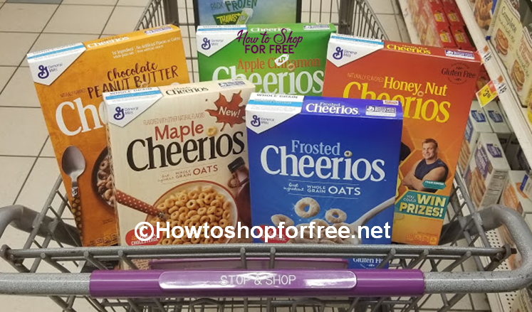 FREE Cheerios at Stop & Shop! ~3 Days ONLY!