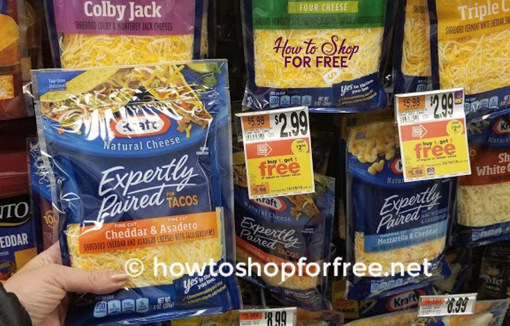 Kraft Shredded Cheese as low as $.12 ~ AGAIN!