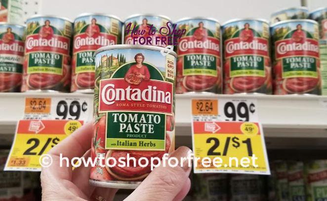 FREE Contadina Tomato Paste!