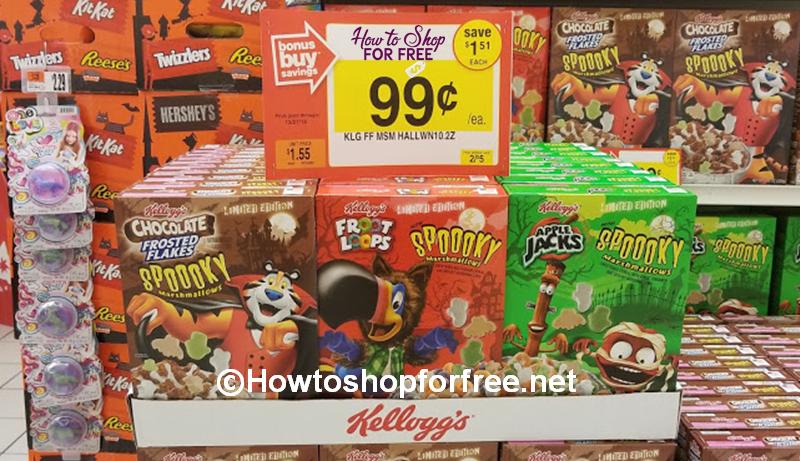 FREE Kellogg's Halloween Cereal at Stop & Shop!