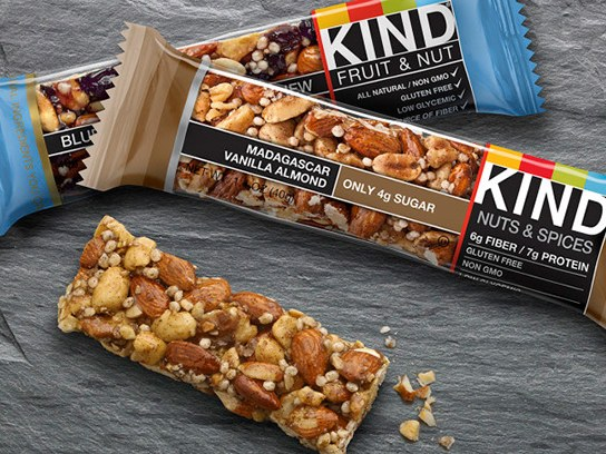 Stockup on kind bars