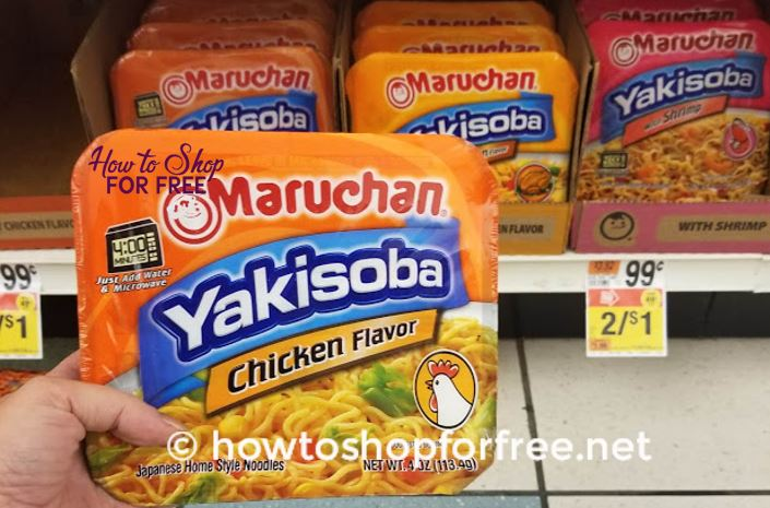 Maruchan Noodles ONLY $.17!