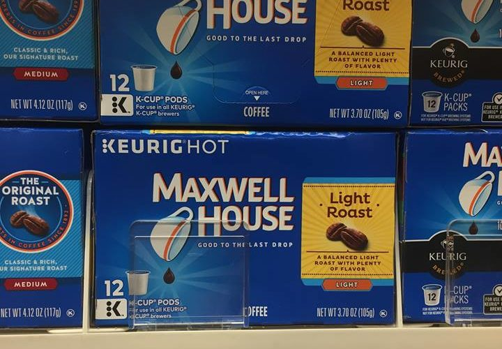 Maxwell House K-cups for the RIGHT price!