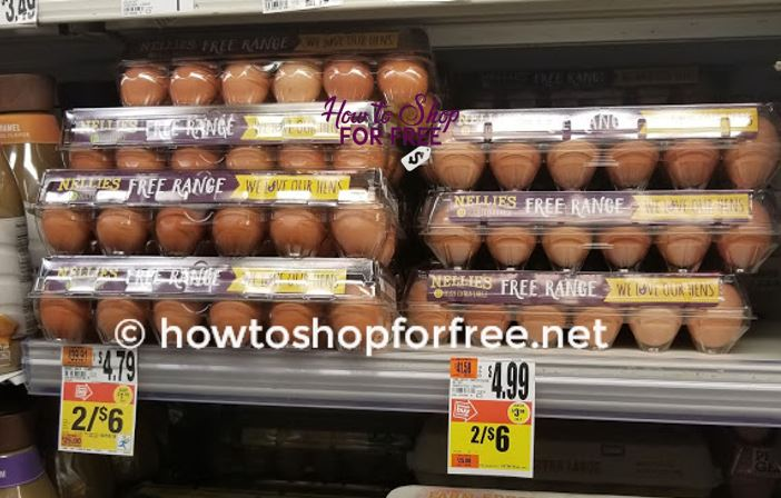 Great Price for Nellie's Free Range Eggs at Stop & Shop!