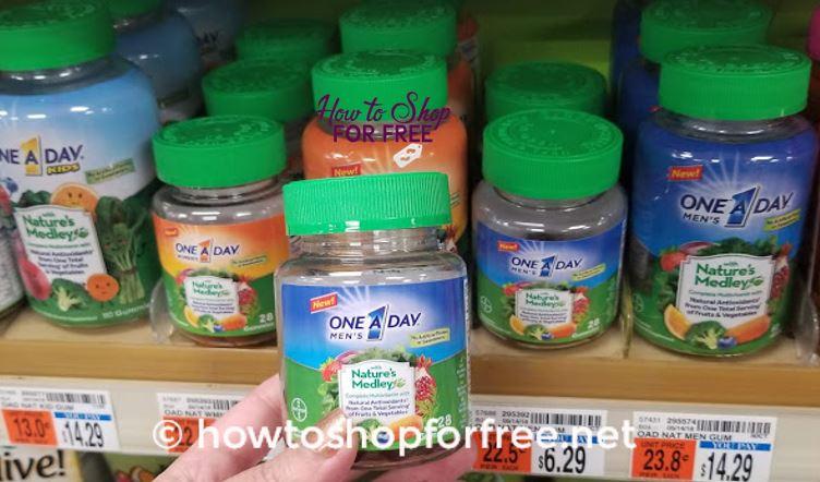 3 FREE One-A-Day Vitamins at CVS!