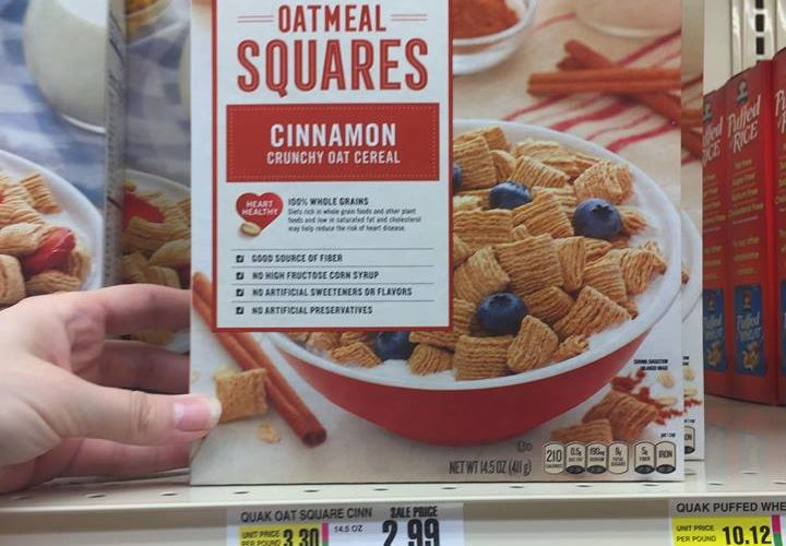 Quaker Oatmeal Squares cereal STOCK-UP!!