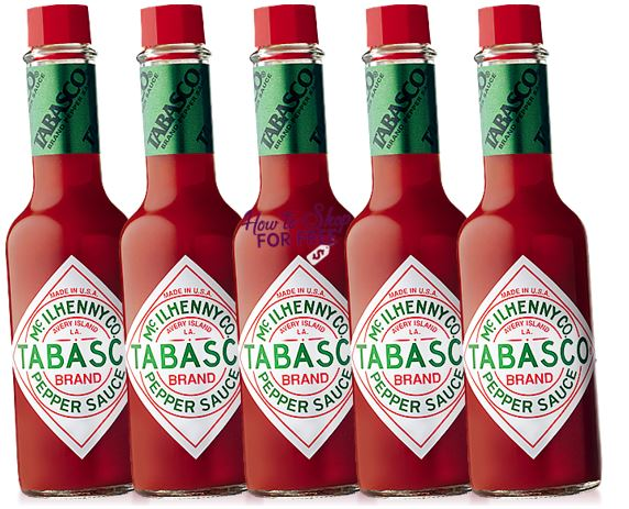 Tabasco Sauce ONLY $.80 at Shaw's!  5 oz Bottle!!
