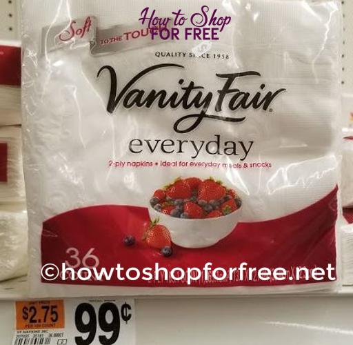 Woo-Hoo!  FREE Vanity Fair Napkins!!
