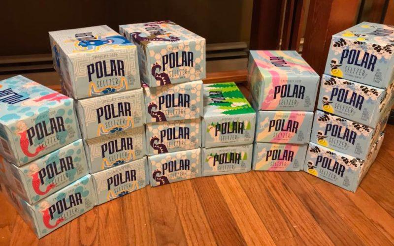 Member Brag ~ 20 Polar Seltzer Jr. 6 Packs for F R E E!