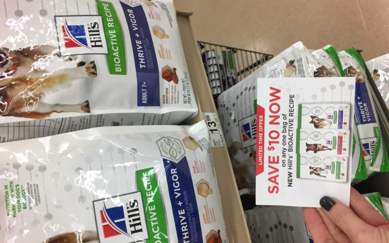 Hills bioactive dog food $3.99