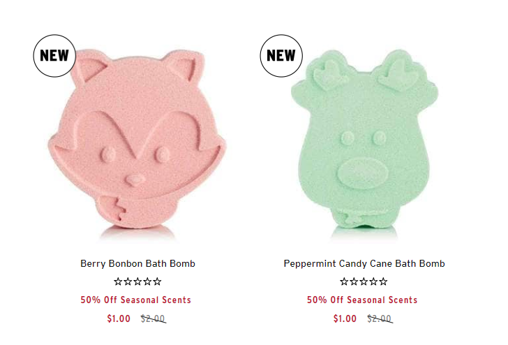 Holiday Bath Bombs Only $1.00 Shipped!