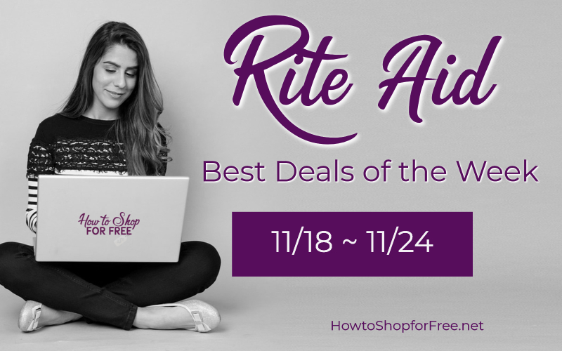 Best Deals of the Week at Rite Aid Starting Sunday 11/18!!