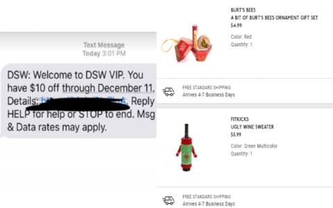 8765a367a04 Grab yourself some FREE small gifts from DSW. Sign up for a FREE DSW VIP  account here and then in manager profile make sure you ...