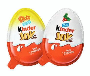 Kinder Joy for just CHANGE another week!
