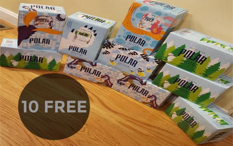 Members Haul: 10 F R E E Polar Seltzer Jr. 6 Packs
