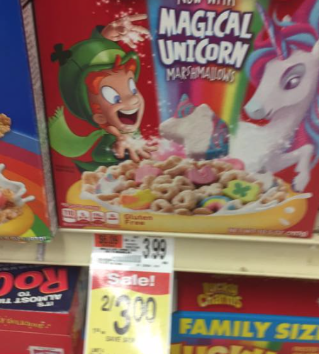 Luck Charms 50 Cents