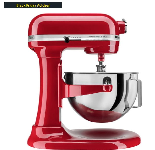 Kitchen And Stand Mixer on Sale NOW for Black Friday Pricing!