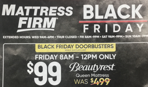 Mattress Firm Black Friday Ad Scan 2018 How To Shop For