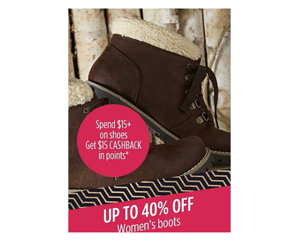 Women's Boots Only $4.99 at Sears!