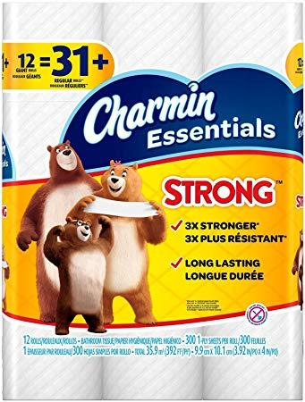 Charmin giant roll 12 packs for $2.99!