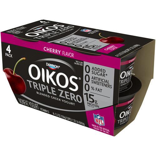 Dannon Greek yogurt 4 packs for CHEAP!