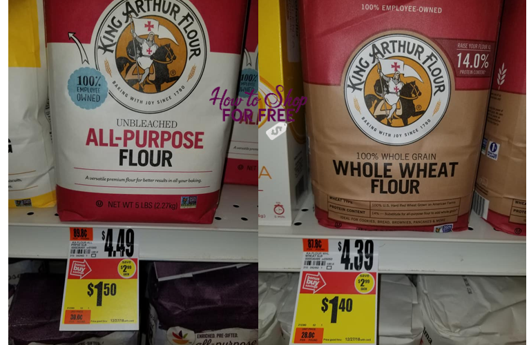 Grab Flour for Your Holiday Baking for as low as $.40!!!