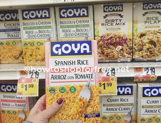 Goya Rice As Low As $.28 at Stop & Shop!