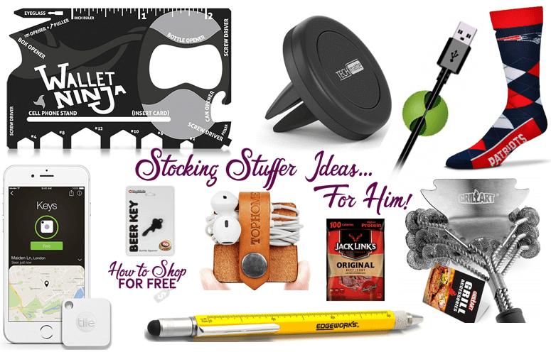 Stocking Stuffer Ideas..For Him!