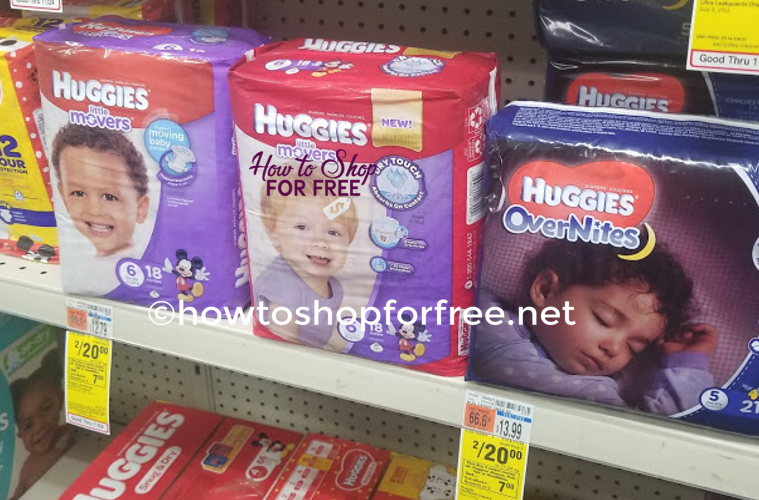 Huggies Diapers as low as $3.00 at CVS!