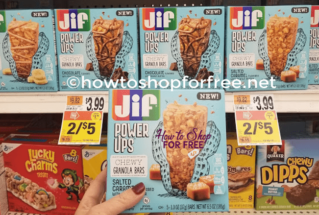 Finally Time to Try Jif Power Ups!