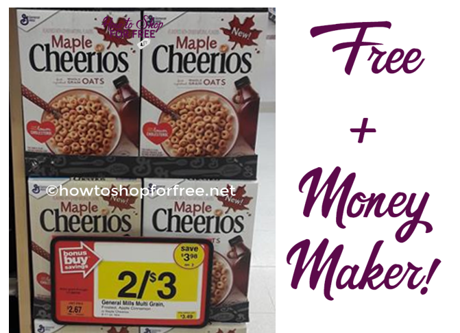 FREE Maple Cheerios at Stop & Shop!