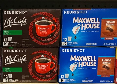 Maxwell House and McCafe K-cups for CHEAP!