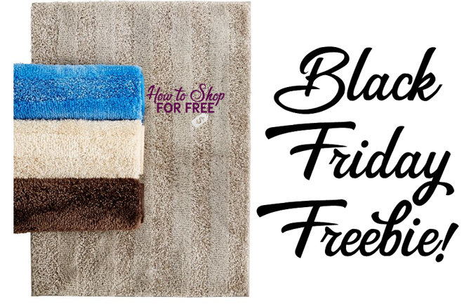 Macy's Black Friday FREEBIE! Free Mohawk Bath Rug!
