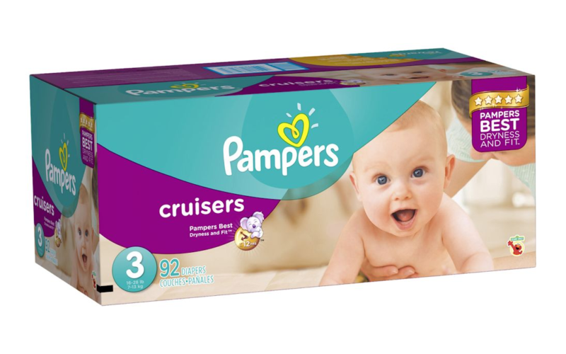SUPER price on Pampers Super Packs!