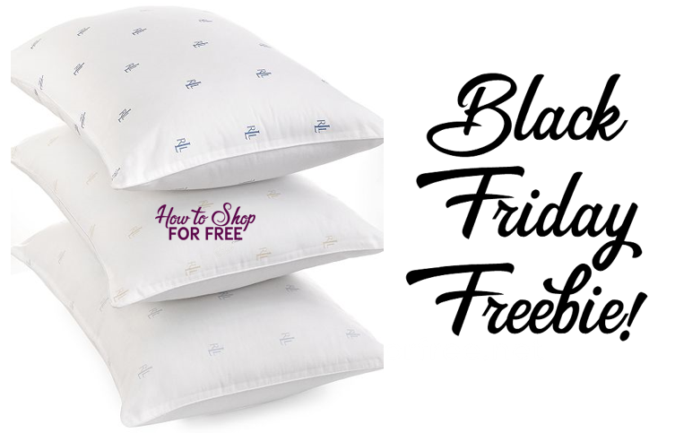 Macy's Black Friday FREEBIE! Free Ralph Lauren Pillows!
