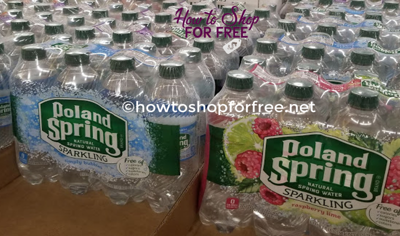 FREE 8-PACK of Sparkling Poland Spring Water!