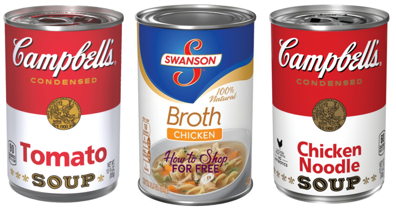 Campbell's Soup or Swanson Broth ONLY $.33 at CVS! ~4 Days ONLY