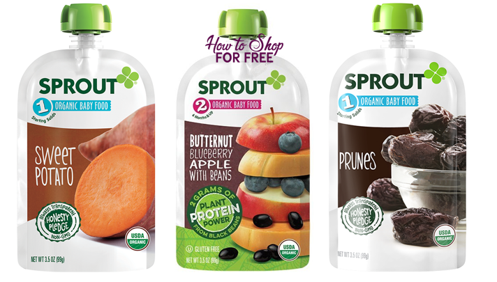 5 FREE + MM on Sprout Baby Organic Pouches!