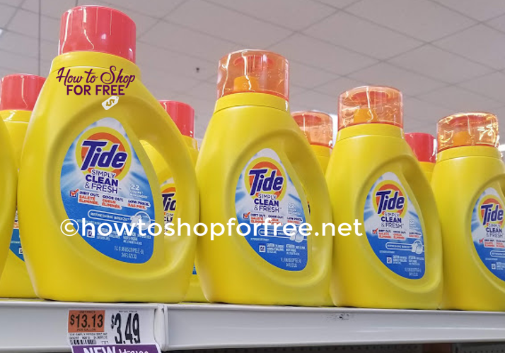 Tide Simply Detergent only $.99!