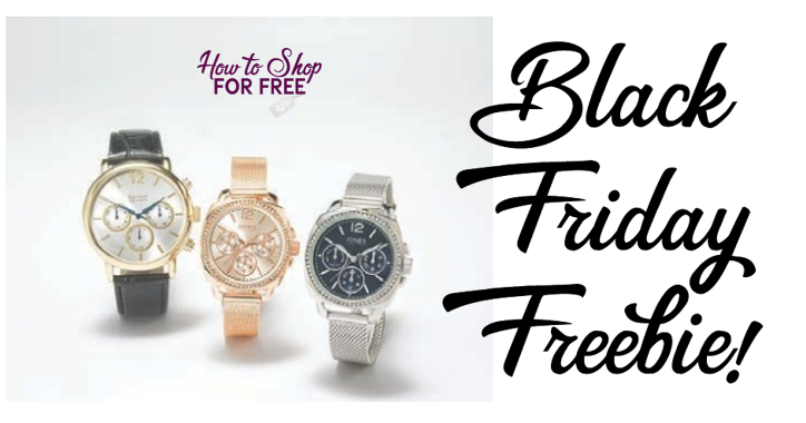 Macy's Black Friday FREEBIE! Free Watch!